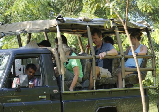 Noel Rodrigo's Leopard Safaris: Ready for safari
