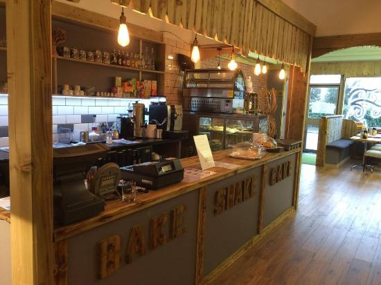 Essex, UK: Natural food cafe serving fresh homemade sugar and additive free, bread,cakes and hot and cold f