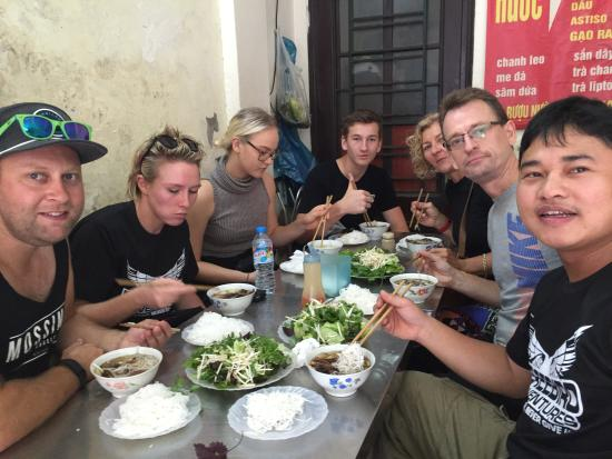 Freebird Adventures: Bun Cha time in Hanoi