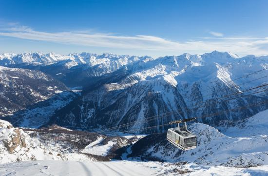 Sole Valley, Włochy: Panoramica sulla Val di Sole da Pejo3000