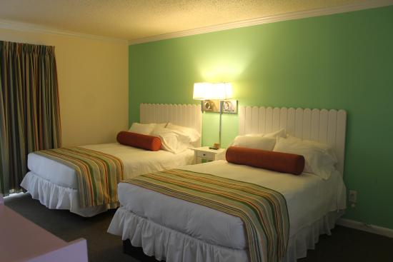 BeachWalk at Sea Bright : Our Standard Double Beds Room