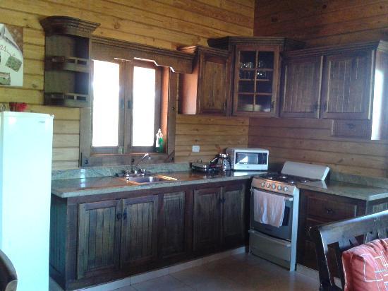 Kitchen at villa No.3, Villas Las Neblinas