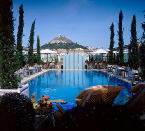 Hotel Grande Bretagne A Luxury Collection Athens Excellent Pool
