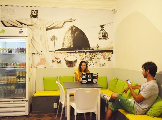 Che Lagarto Suites Copacabana Santa Clara: Área Comum