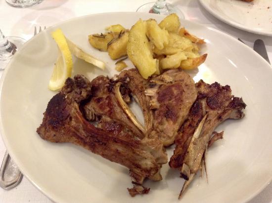 Hostaria Romana: Lamb Chops