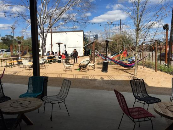 Picture Of Axelrad Beer Garden Houston Tripadvisor