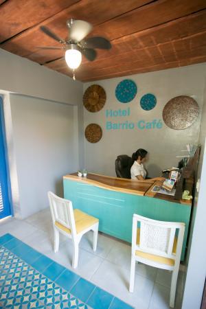 Barrio Cafe Hotel : Recepcion
