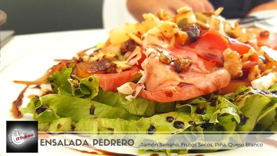 San Isidro, Spanien: Ensaladas tan ricas como saludables