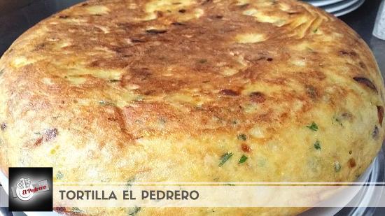 San Isidro, Spanien: Sin duda la tortilla que no podrás resistirte a repetir