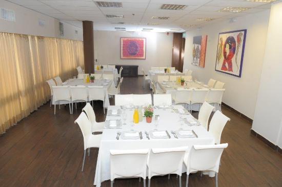 Avia Hotel : dining room