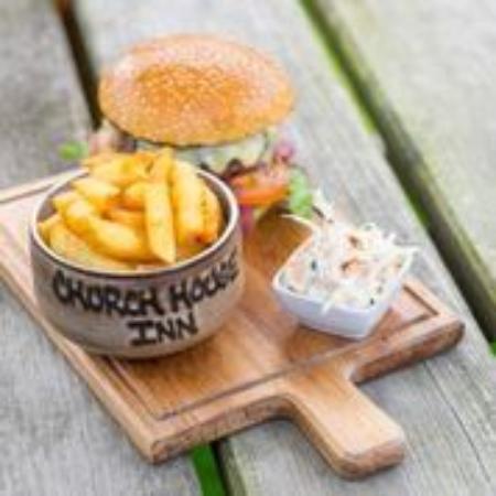 Rattery, UK: Church House Burger