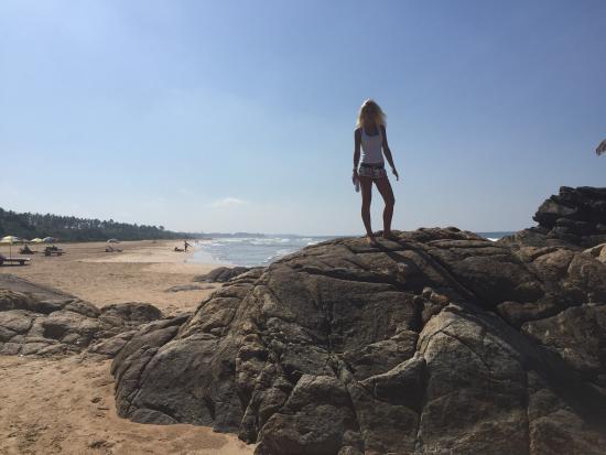 Bentota, Sri Lanka : Пляж Бентота