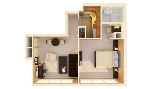 One Bedroom Apartment Floor Plan Picture Of Sutton Court Hotel Residences New York City Tripadvisor