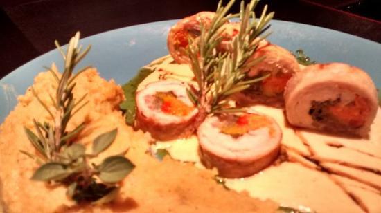Terra Mar: Roll de cerdo con batatas
