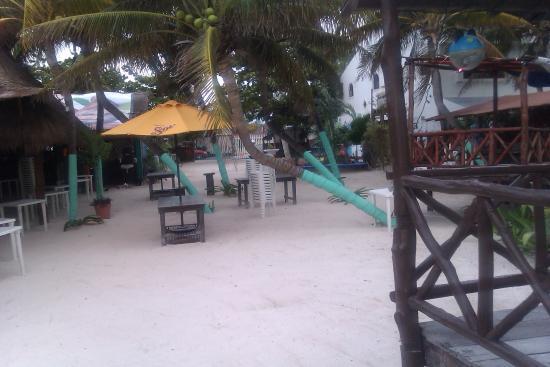 215976951b7e la playita beachside restaurant puerto morelos beach - Picture of La ...