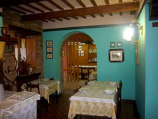 Sarnano, Italien: Sala Del Camino