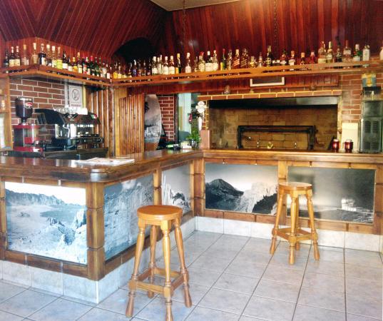 Granadilla de Abona, Spanyol: Entrada - Zona de bebidas espirituosas y cafés.