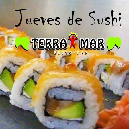 Terra Mar: Sushi variada cada jueves