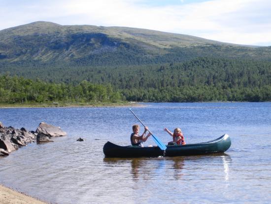 Roste Hyttetun og Camping: Padlemuligheter