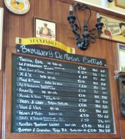 Arendsnest Dutch Beer Bar: Brillant beer bar.