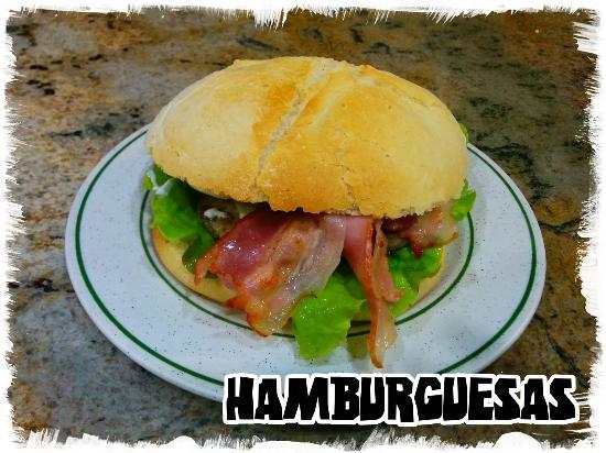 Hamburgueseria oli: Nuestras famosisimas hamburguesas