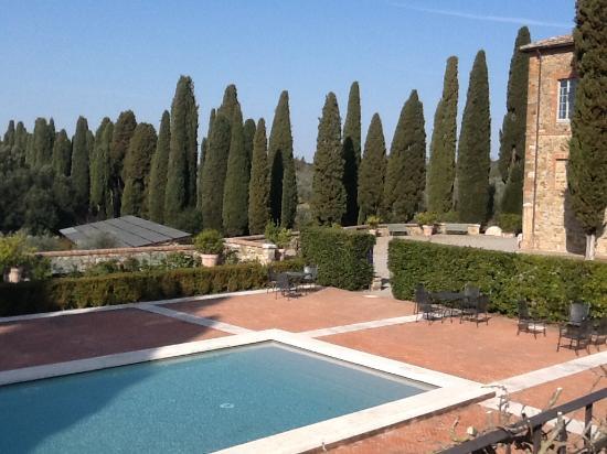 Vagliagli, İtalya: Piscina