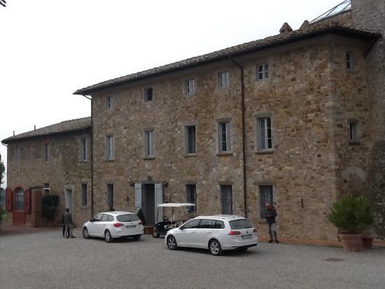 Vagliagli, İtalya: Entrata