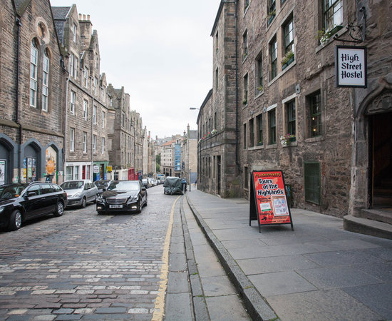 Photo of Hotel High Street Hostel at 8 Blackfriars St., Edinburgh EH1 1NE, United Kingdom