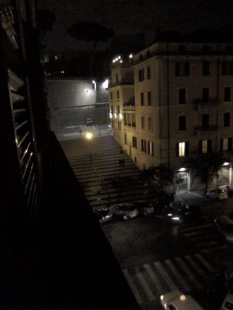 Hotel Museum: View towards Vatican city