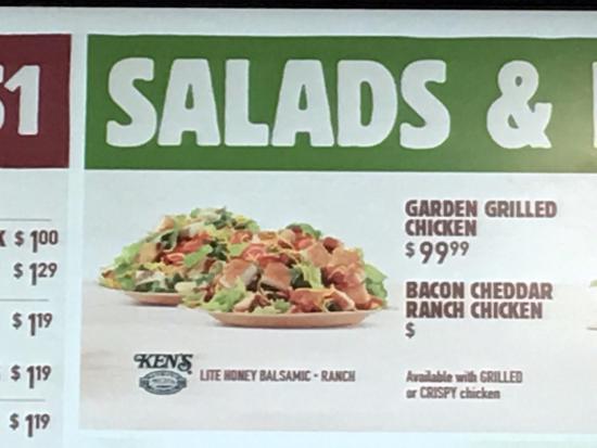 Burger King: Seems pricey for BK