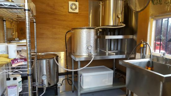Lisburn, UK: Our nano brewery