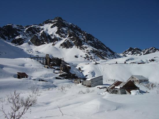 ปัลเมอร์, อลาสกา: Winter Snow at Independence Mine