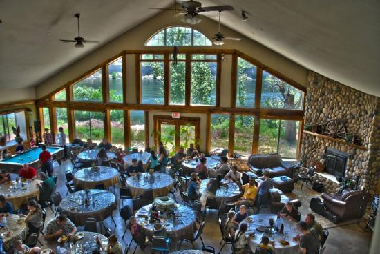 Okanogan, WA: Dining Hall