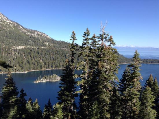 Lake Tahoe Nevada State Park: Lake Tahoe, fantastisk utsyn over innsjøen