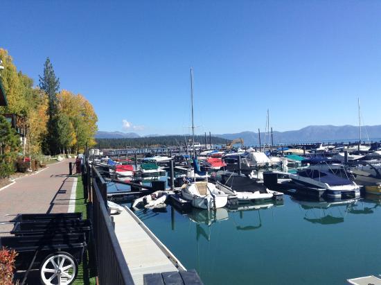 Lake Tahoe Nevada State Park: Marina i Lake Tahoe