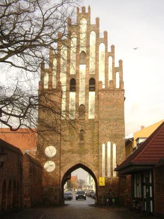 Neubrandenburg, Tyskland: porta da muralha