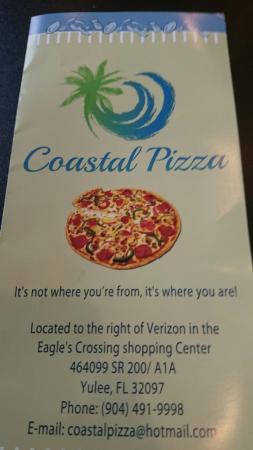 Yulee, FL: Coastal Pizza