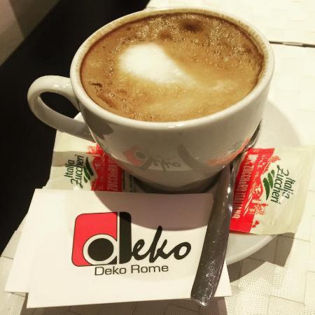 Have a cappuccino & a cornetto @ Deko Rome. So delicious, you'll want to ask for more :)