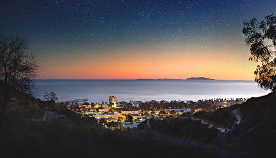 Stars above Ventura by Kamilo Bustamante