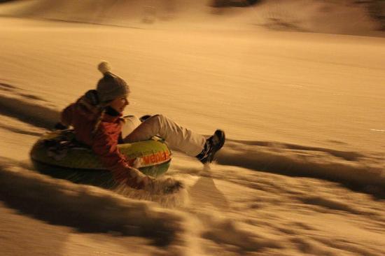 Alta Municipality, Norwegen: Rent a snowtube