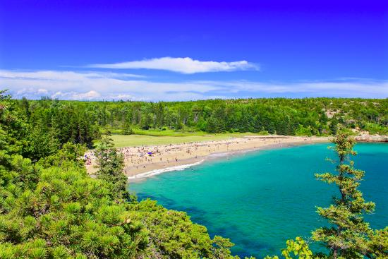 Sand Beach Bar Harbor Maine Review