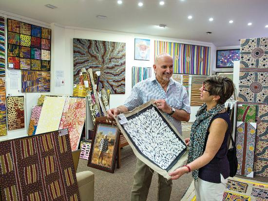 Alice Springs Art Galleries
