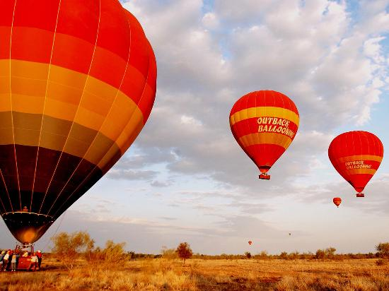 Northern Territory, Australien: Outback Hot Air Ballooning, Alice Springs