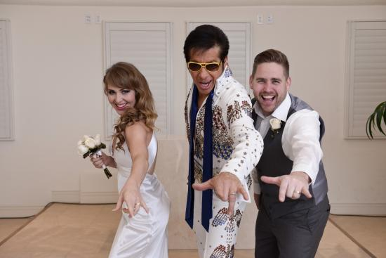 Elvis Wedding Ceremony By Tropicana Las Vegas Weddings Picture Of