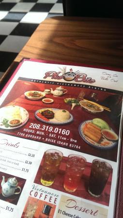 pho bac boise restaurant reviews phone number photos tripadvisor - Couisin En Bois Ehter