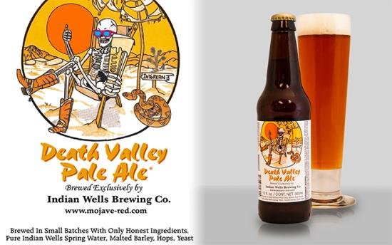 DEATH VALLEY PALE ALE @ THE HUBB BAR & GRILL - PAHRUMP,NV Death Valley Pale is a classic pale al