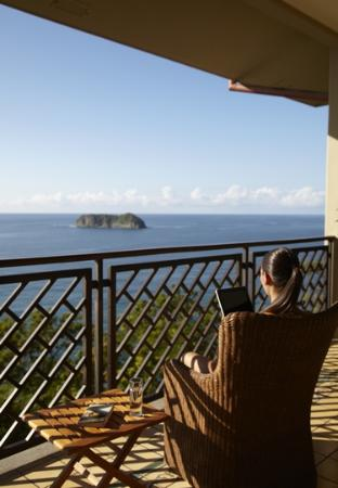 Arenas del Mar Beachfront and Rainforest Resort, Manuel Antonio, Costa Rica: A view from one of the suites
