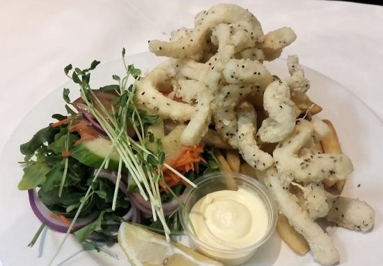กาเลาดรา, ออสเตรเลีย: Melt in your mouth Calamari off the menu