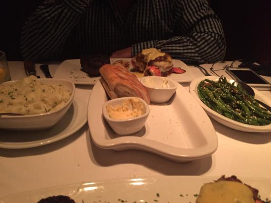 Had a wonderful dinner tonight with my husband at Flemings in Marlton.