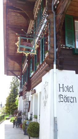 Habkern - Hotel Bären - historische Fassade